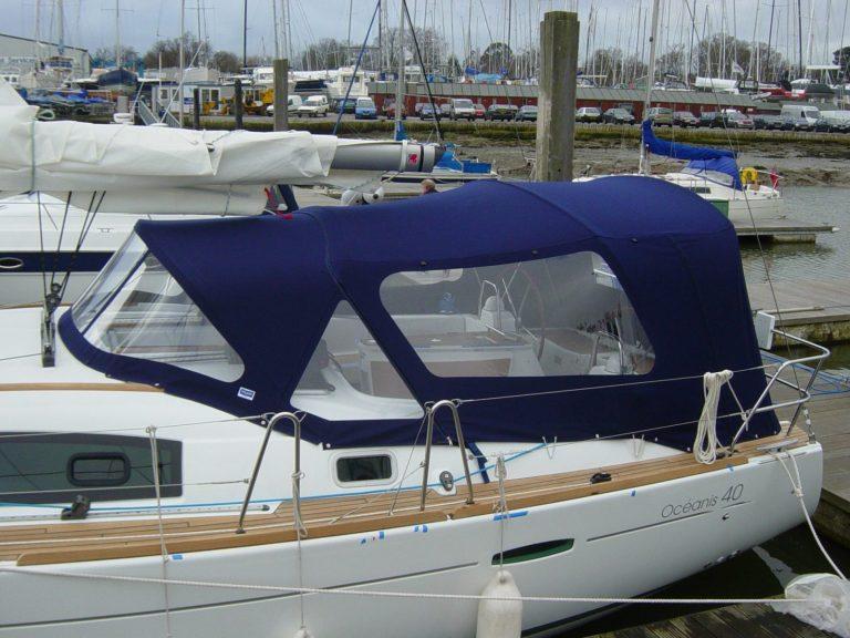 Beneteau Oceanis 40 cockpit enclosure 024
