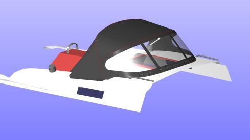 Bavaria-Cruiser-37-Sprayhood-Cad-model