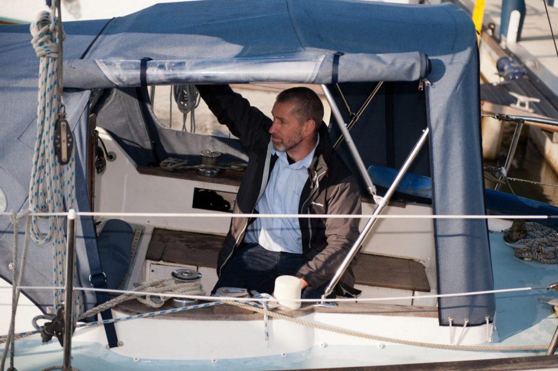 Fitting Kieran Flatt Yachting Month