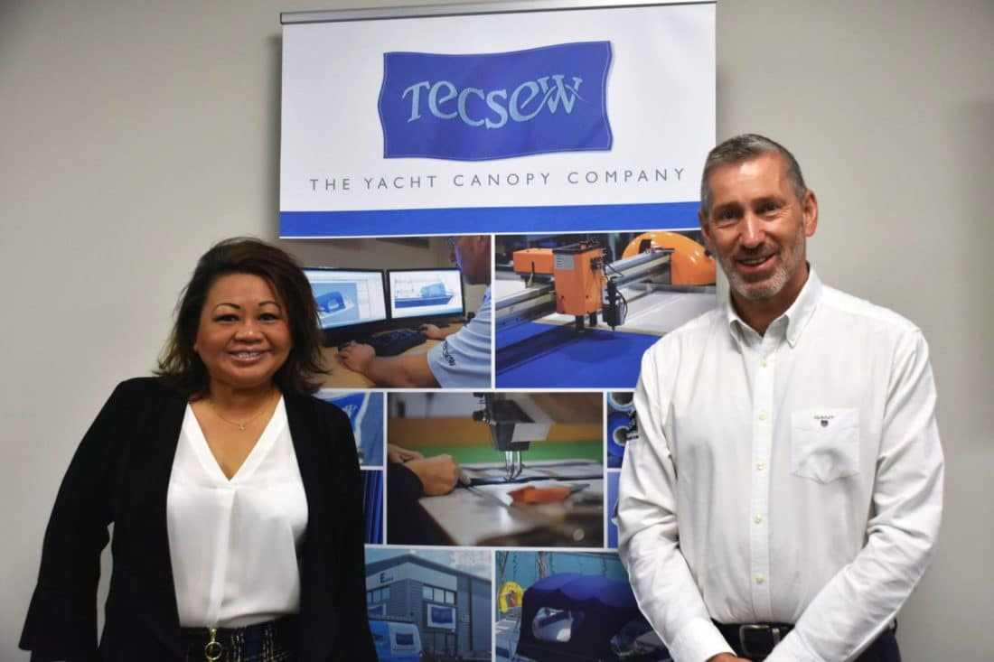 Tecsew Directors, Ally and John Bland