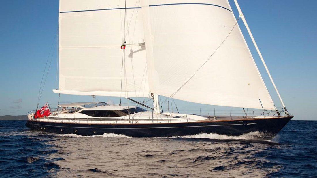 Superyacht Nashira crew covers