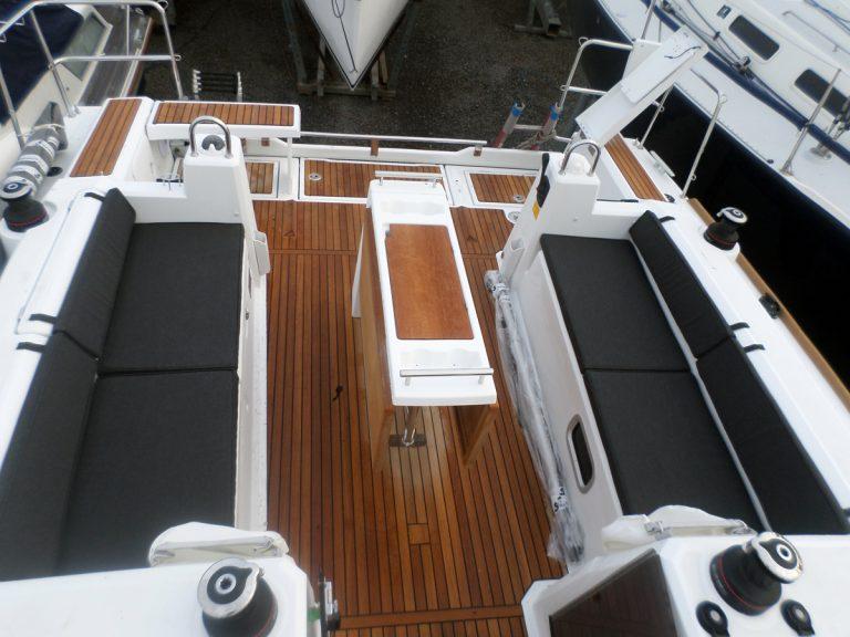 Beneteau Oceanis 38 Cockpit Cushions