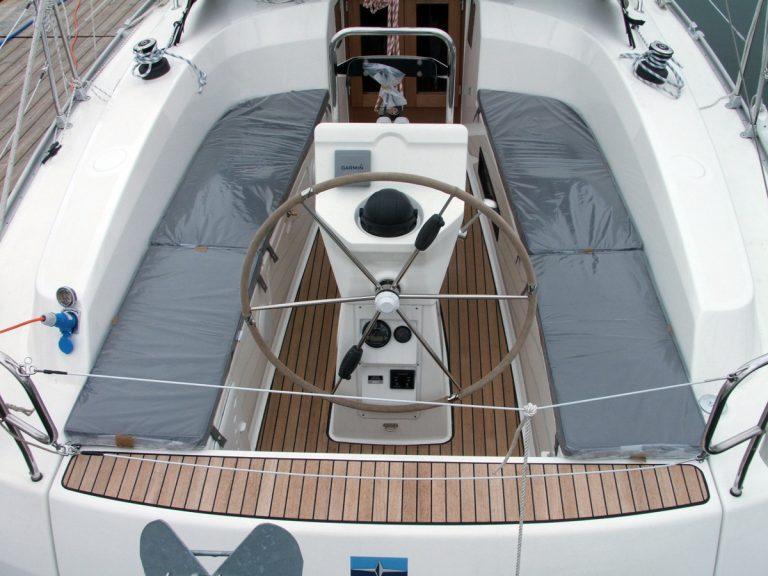 Bavaria Cruiser 32, 2013 Cockpit Cushions