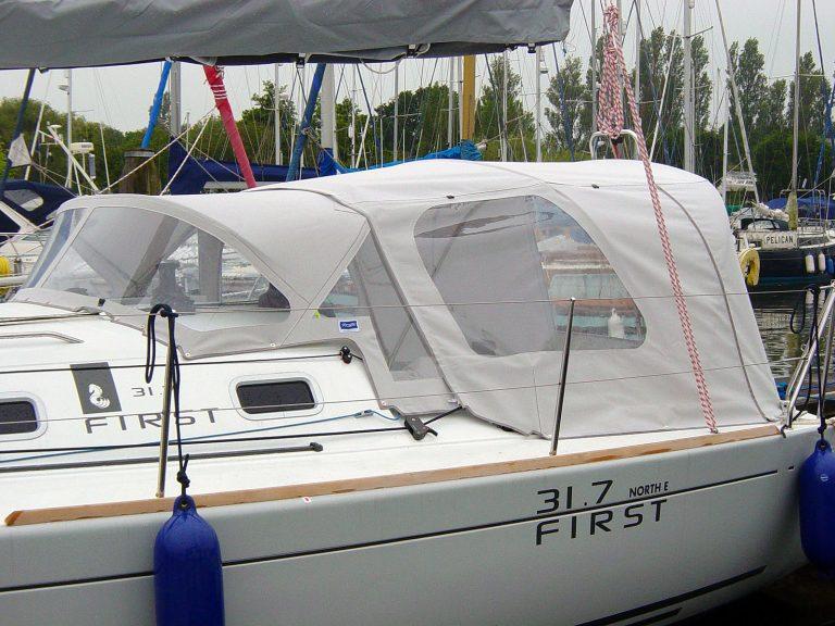 Beneteau First 31.7 Cockpit Enclosure