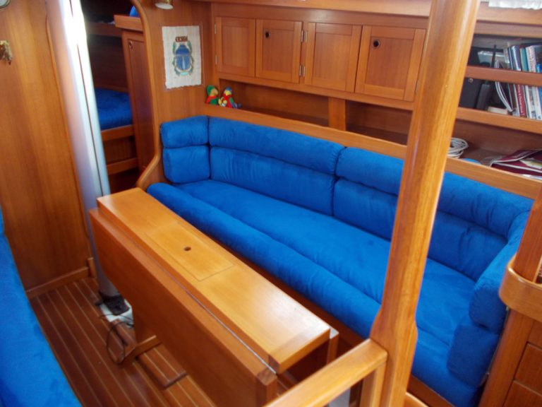 Comfortina 35, BARBULA, Reupholstery in Ecosuede