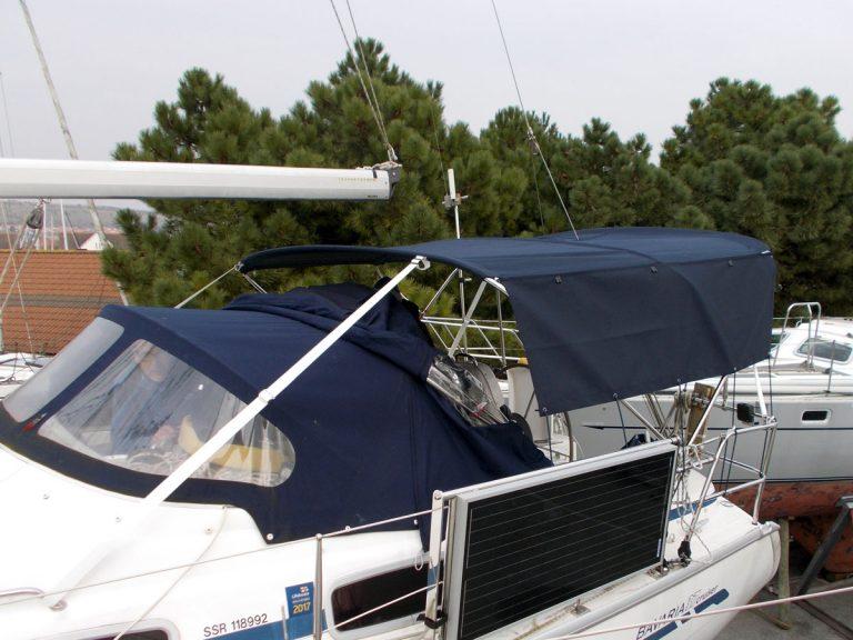 Bavaria 37 Cruiser 2005 model, Bimini, ETERNITE