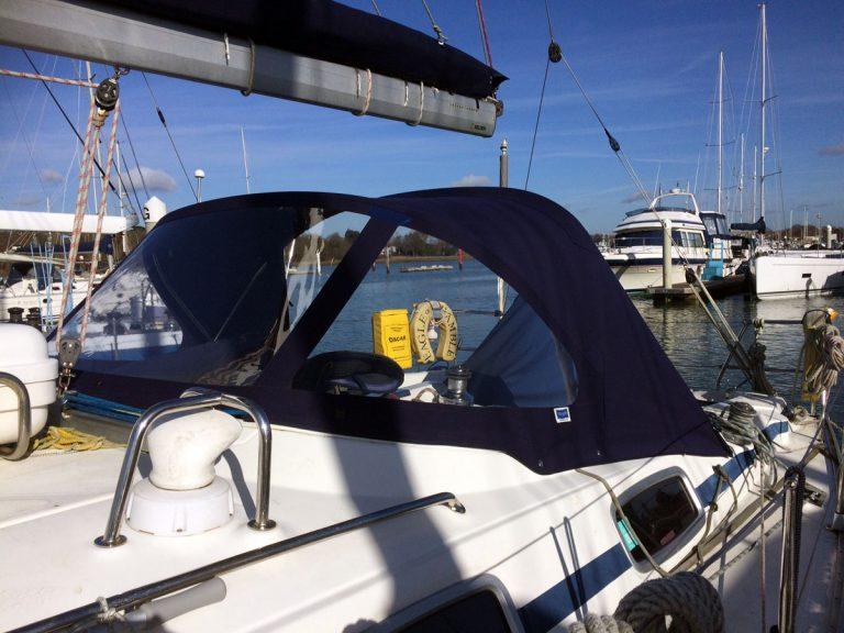 Bavaria 38 Cruiser Sprayhood recover for CJ original