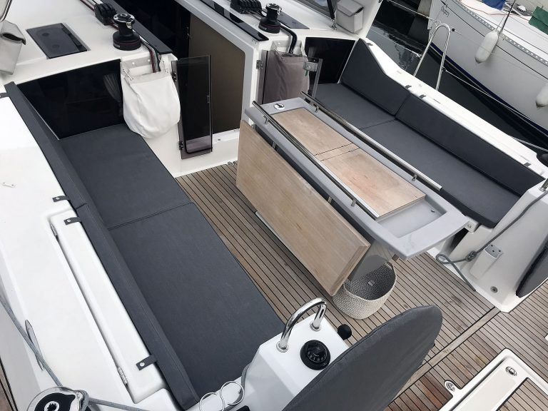 Beneteau Oceanis 41.1, Cockpit Seat and Back Cushions