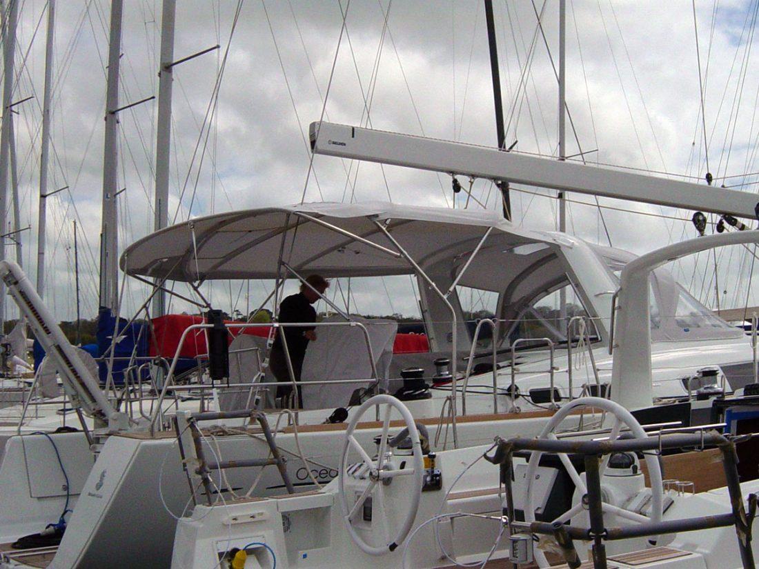 Beneteau Oceanis 58 Bimini