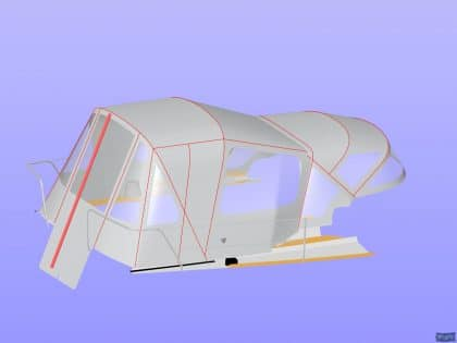 arcona 430 cockpit enclosure 11