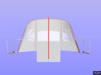 arcona 430 cockpit enclosure 9