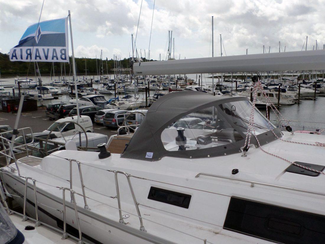 Bavaria Cruiser 46 Sprayhood, 2014 model