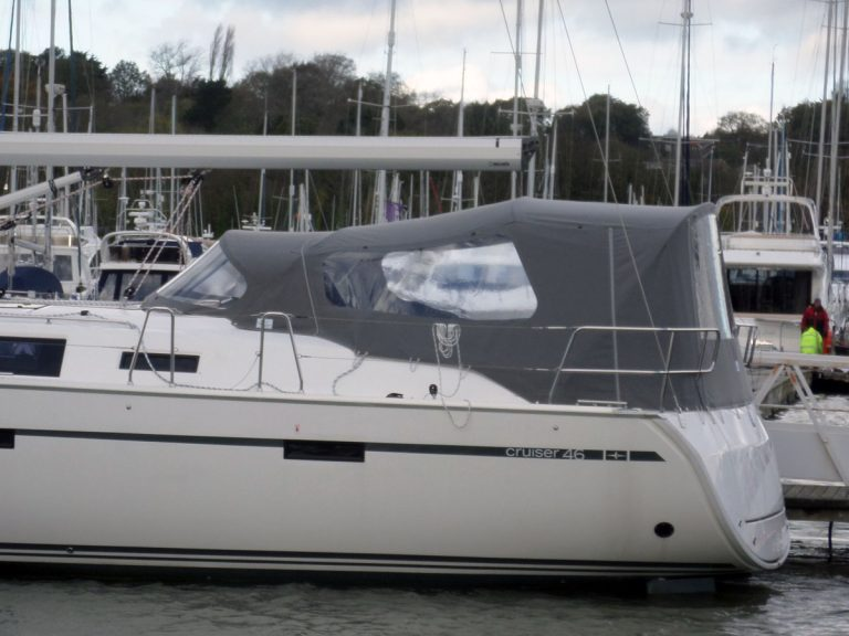 Bavaria Cruiser 46, 2014 model, Cockpit Enclosure