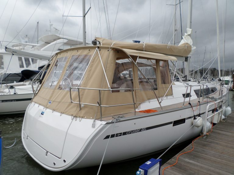 Bavaria Cruiser 46, 2014 model Bimini Conversion