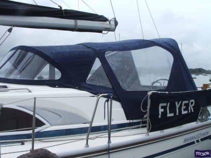 bavaria 40 vision cockpit enclosure and sprayhood recover ref 4945 2