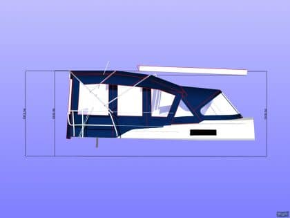 bavaria cruiser 33 bimini conversion ref 5935 2 1