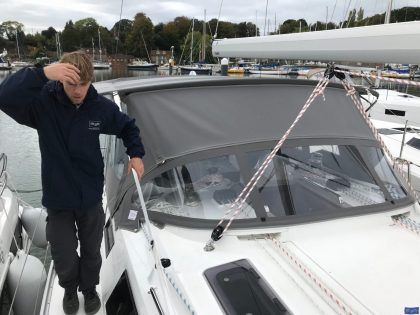 bavaria cruiser 41 bimini conversion 10