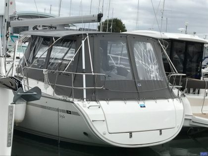 bavaria cruiser 41 bimini conversion 2