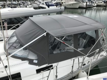 bavaria cruiser 41 bimini conversion 3