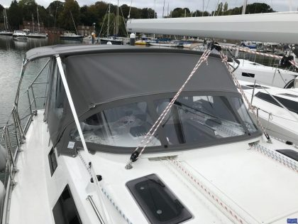 bavaria cruiser 41 bimini conversion 6