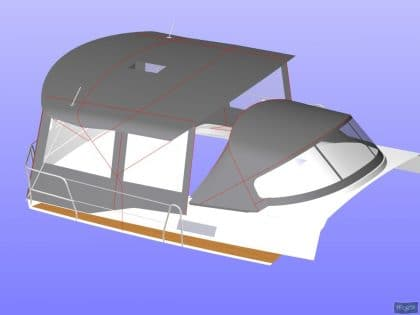 bavaria cruiser 51 bimini conversion ref 7330 11