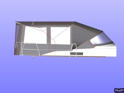 bavaria cruiser 51 bimini conversion ref 7330 7