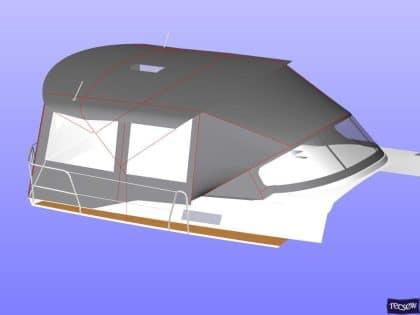 bavaria cruiser 51 bimini conversion ref 7330 8