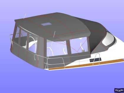 bavaria cruiser 51 bimini conversion ref 7330 9