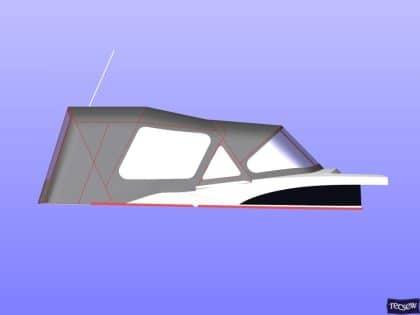 bavaria vision 42 higher design cockpit enclosure 10