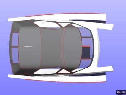 bavaria vision 42 higher design cockpit enclosure 12
