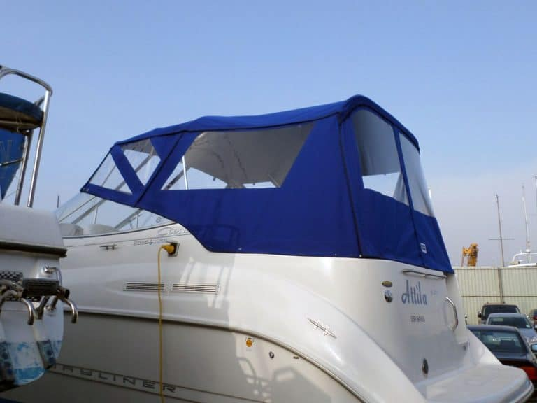 Bayliner Cierra 2655 Fore and Aft Cockpit Canopies