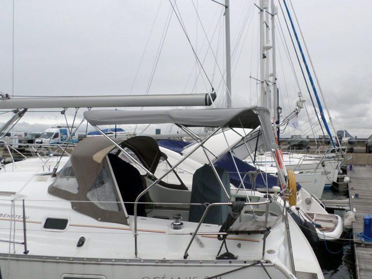 Beneteau Oceanis 331 Bimini, LACEWINGPICTURES