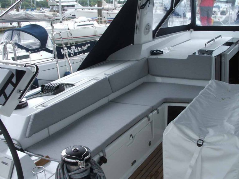 Beneteau Oceanis 55 Cockpit Seat and back Cushions