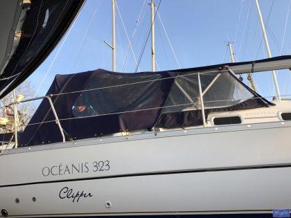 beneteau oceanis 323 cockpit enclosure 2