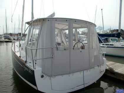 beneteau oceanis 38 and 381 bimini conversion 6
