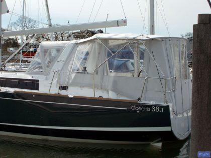 beneteau oceanis 38 and 381 bimini conversion 8