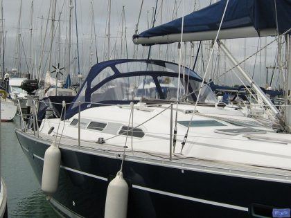 beneteau oceanis 393 replacement sprayhood for factory fitted original 1