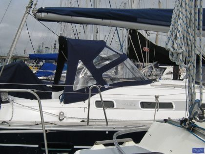 beneteau oceanis 393 replacement sprayhood for factory fitted original 2