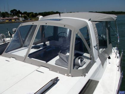 beneteau oceanis 411 bimini conversion 7