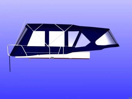 beneteau oceanis 50 2006 model bimini conversion 10