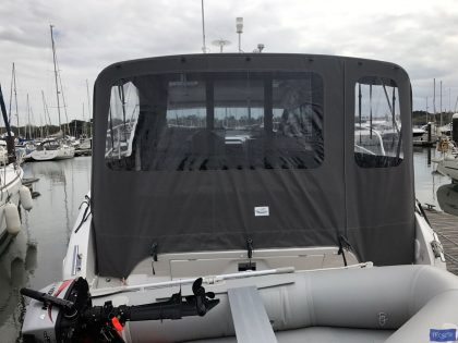 bmb sport 400 ht or bavaria s40 cockpit enclosure with roll up sides 4