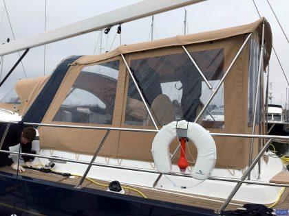 discovery 54 bimini conversion fitted to tecsew bimini 3