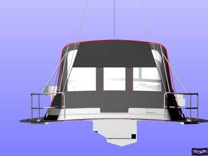 discovery 54 bimini conversion fitted to tecsew bimini 8