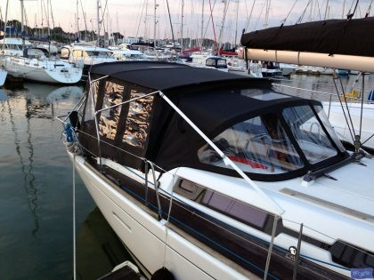 dufour 405 bimini conversion 10