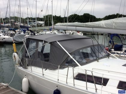 hanse 400 bimini conversion 1