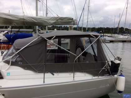 hanse 400 bimini conversion 2
