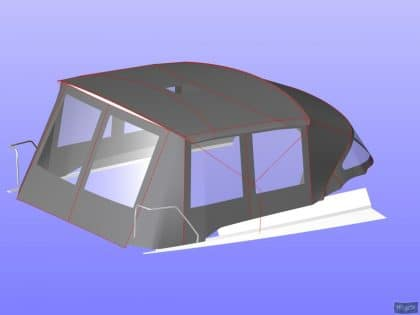 hanse 400 bimini conversion 5