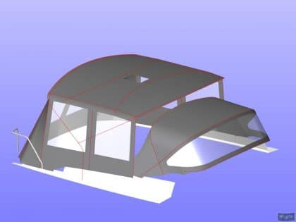 hanse 400 bimini conversion 7