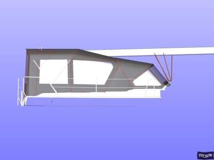 hanse 470e bimini conversion 5