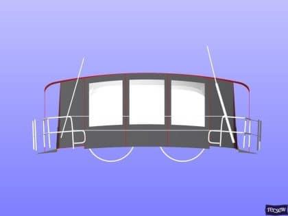 hanse 505 bimini conversion fitted to tecsew standard bimini 8